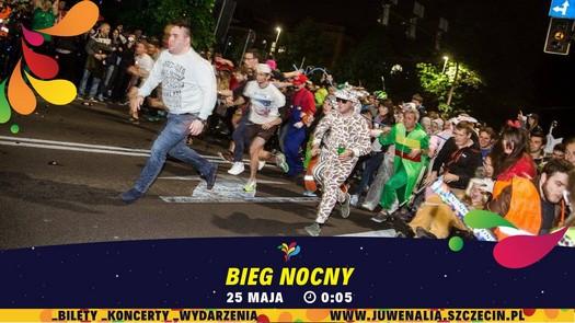Juwenalia Szczecin 2017: Bieg Nocny