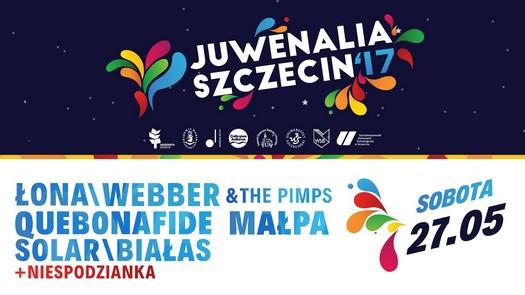 Juwenalia Szczecin 2017: Quebonafide, Łona/Webber, Małpa, Solar/Białas