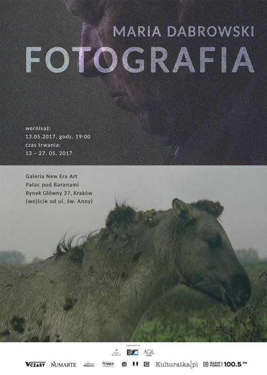 """Maria Dabrowski - Fotografia"" w Galerii New Era Art"