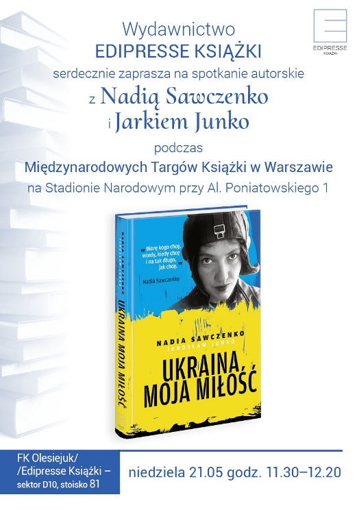 Nadia Sawczenko w Polsce