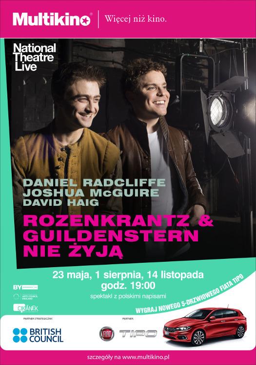 """""""Rozencrantz i Guildenstern nie żyją"""" z Danielem Radcliffem"""