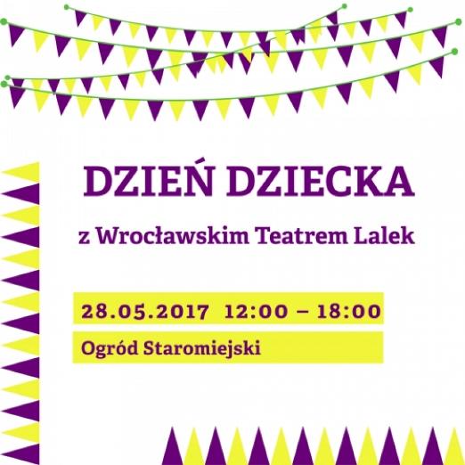 Dzień Dziecka z Wrocławskim Teatrem Lalek