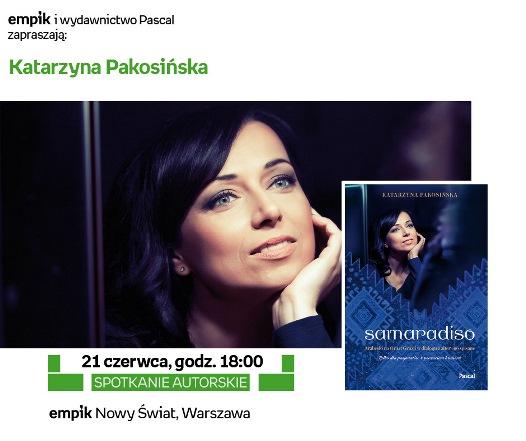 Katarzyna Pakosińska w warszawskim Empiku