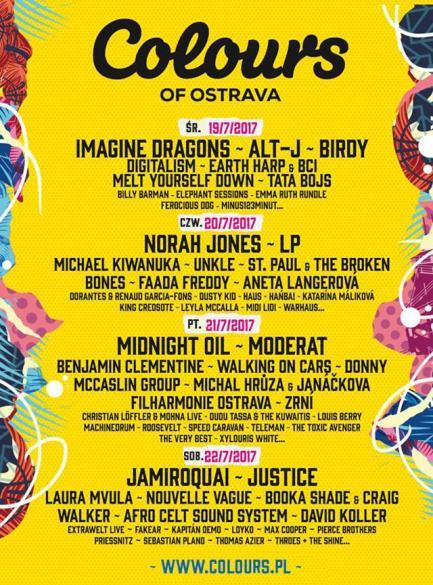 Colours of Ostrava - Dzień1