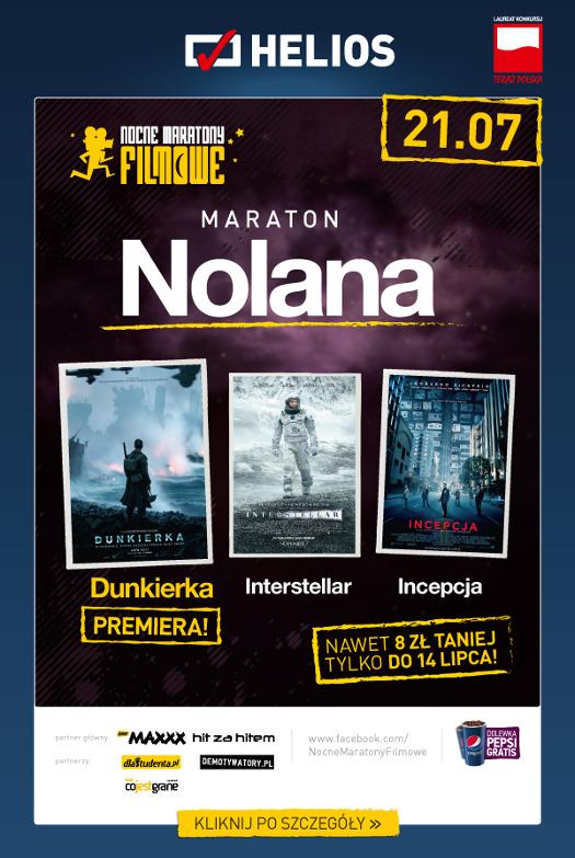 """Maraton Nolana z premierowym pokazem filmu """"Dunkierka"""""""