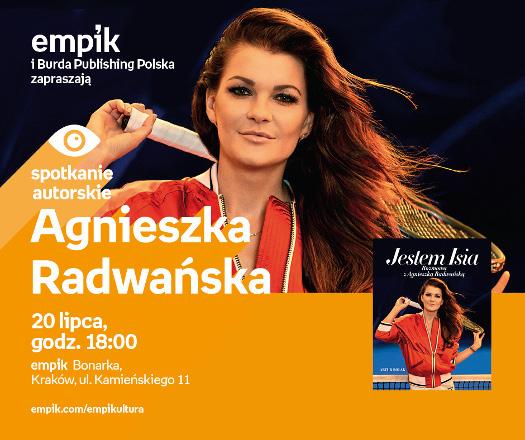 Agnieszka Radwańska - spotkanie autorskie