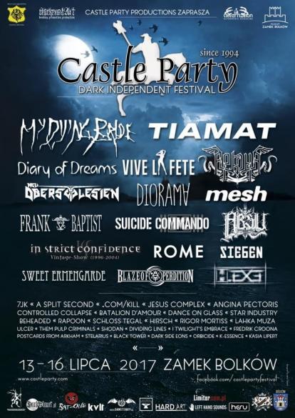 Castle Party 2017 - dzień 4