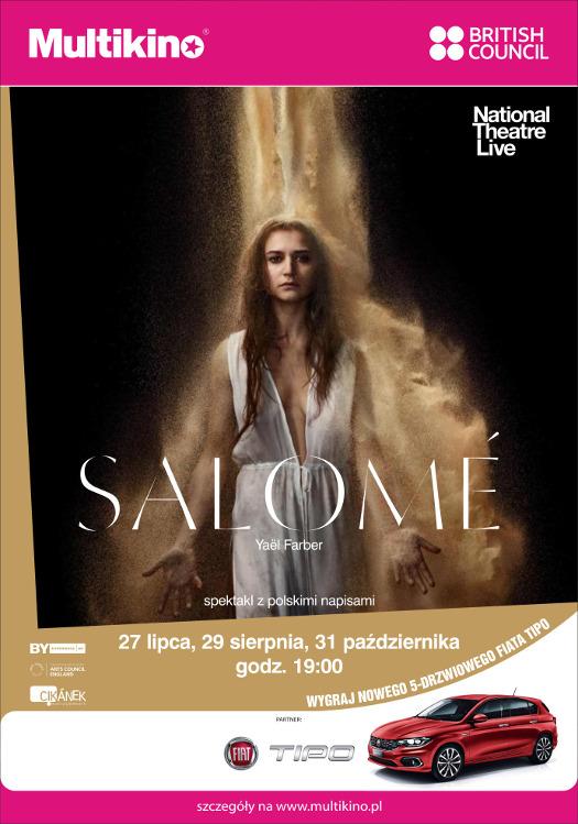 """""""Salome"""" - spektakl w Multikinie"""