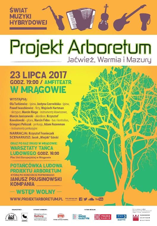 """IV Projekt Arboretum pt. """"Jaćwież, Warmia i Mazury"""""""
