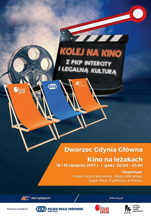 Wakacyjne kino na dworcu Gdynia Główna