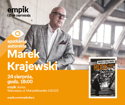 Powrót detektywa Mocka - spotkanie z Markiem Krajewskim