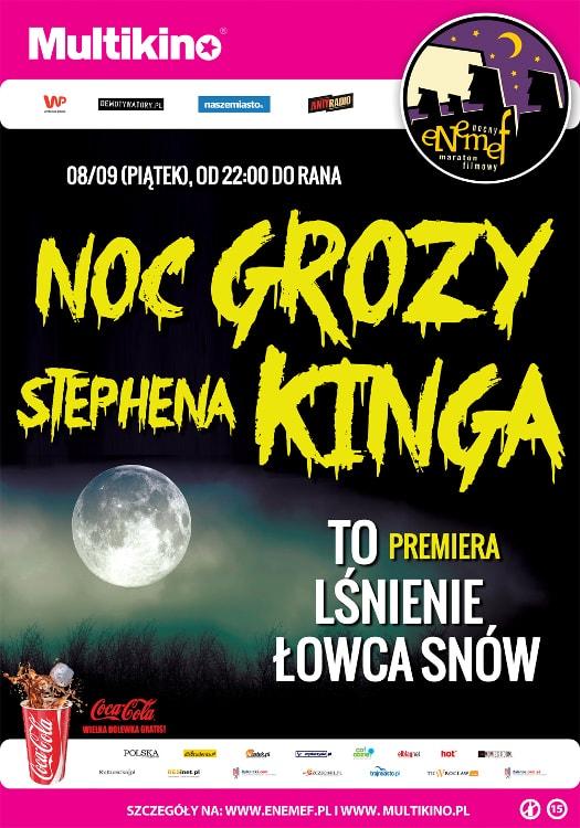 ENEMEF: Noc Grozy Stephena Kinga w Multikinie