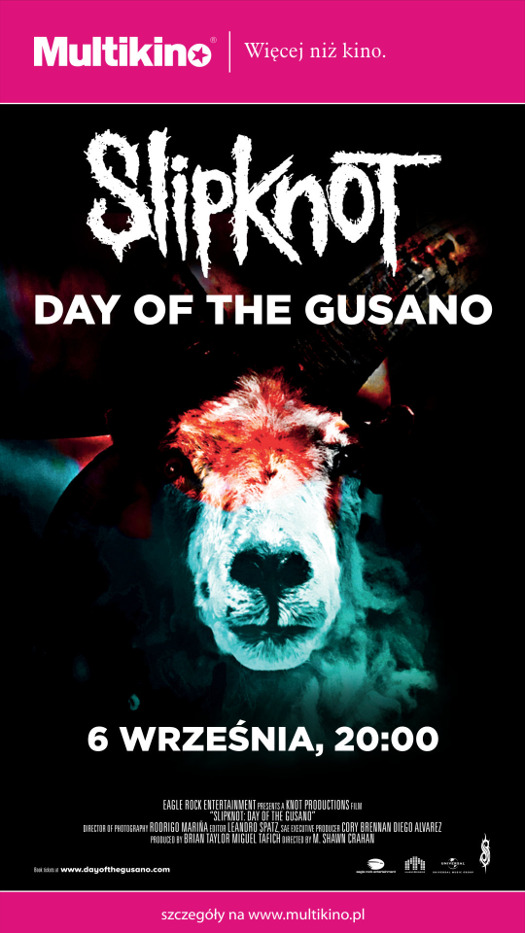 """Slipknot - Day of The Gusano"" w Multikinie"
