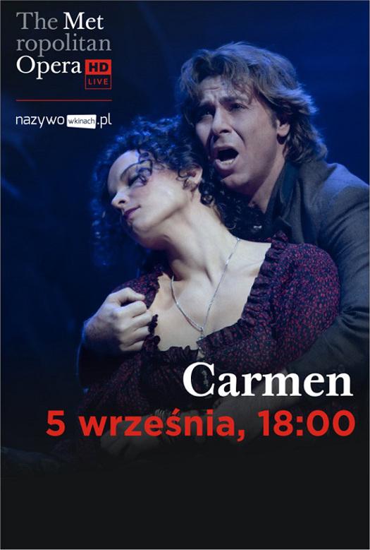 """Carmen"" w ramach The Met: Live in HD w Multikinie"