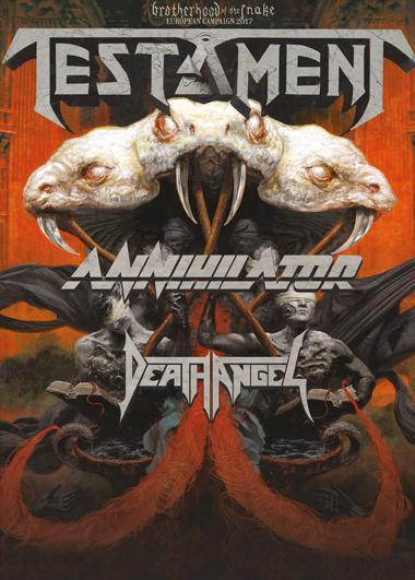 Testament + Annihilator + Death Angel