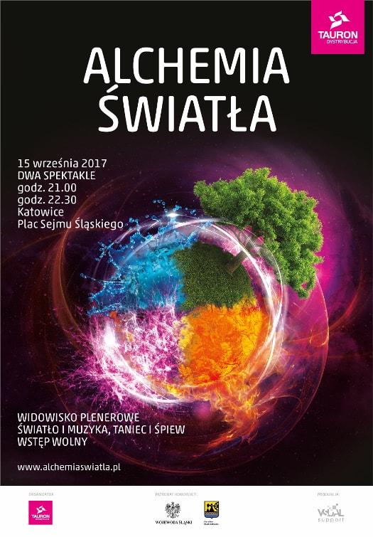 Alchemia Światła 2017 w Katowicach