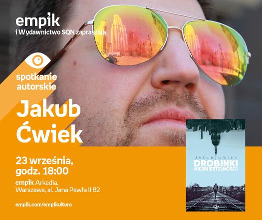 Jakub Ćwiek - spotkanie autorskie