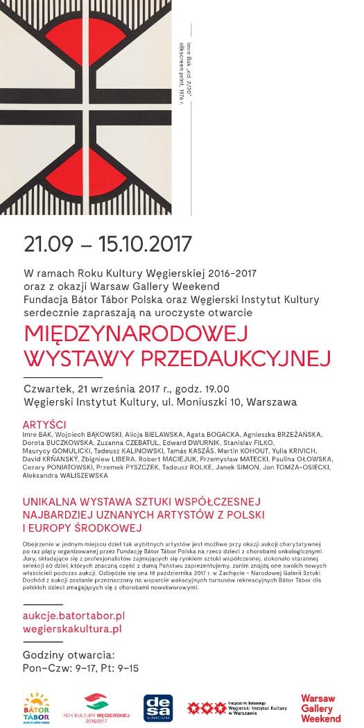 Wystawa Przedaukcyjna Sztuki Współczesnej