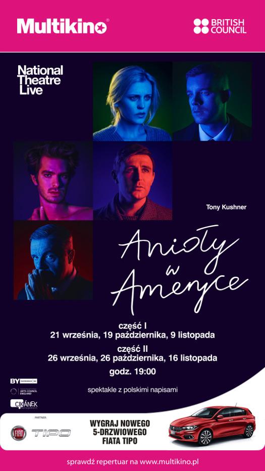 National Theatre Live w Multikinie: Anioły w Ameryce cz. II