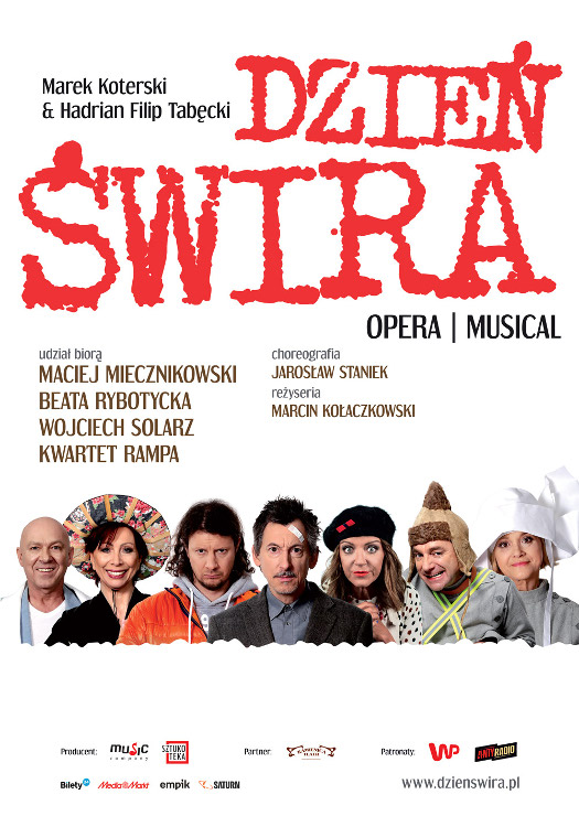 DZIEŃ ŚWIRA opera/musical