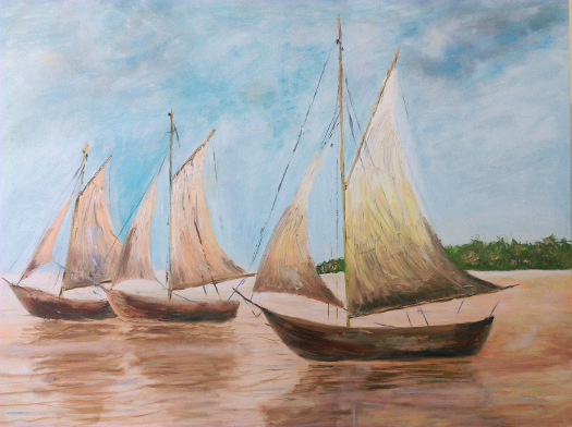 Morze, statki, żagle