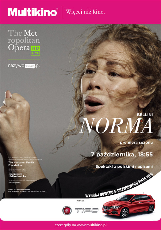 "The Met Live in HD: transmisja ""Normy"""