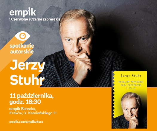 Jerzy Stuhr - spotkanie autorskie