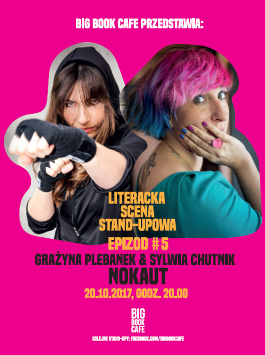 Literacki Stand-up: Sylwia Chutnik i Grażyna Plebanek