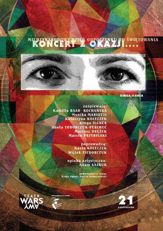 Koncert aktorów w Teatrze WARSawy
