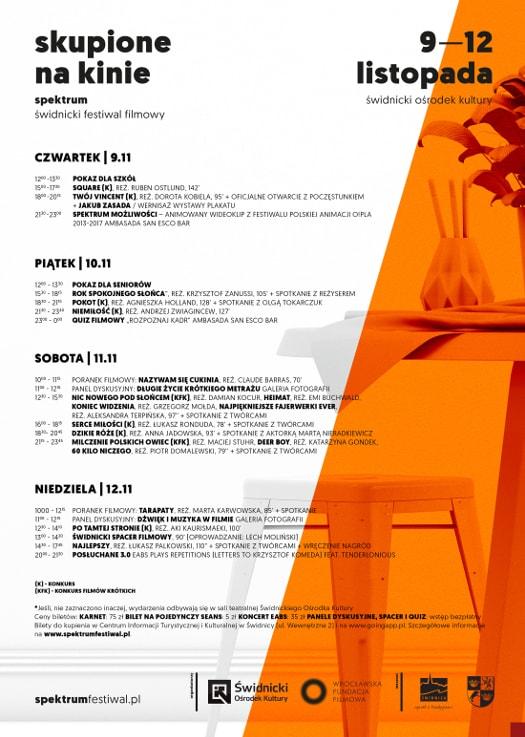 3. Świdnicki Festiwal Filmowy Spektrum