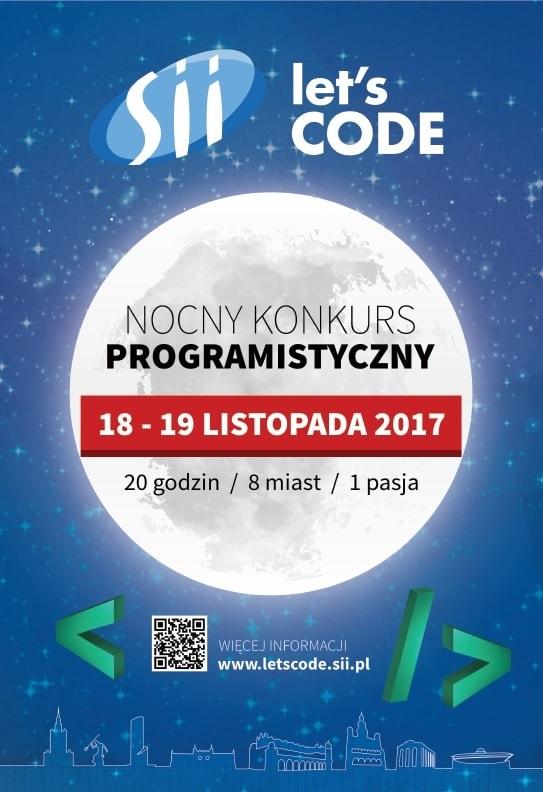 """Konkurs programistyczny dla studentów """"Let's Code"""""""
