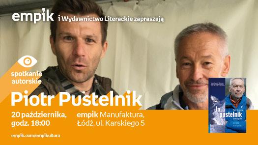 Piotr Pustelnik - spotkanie autorskie