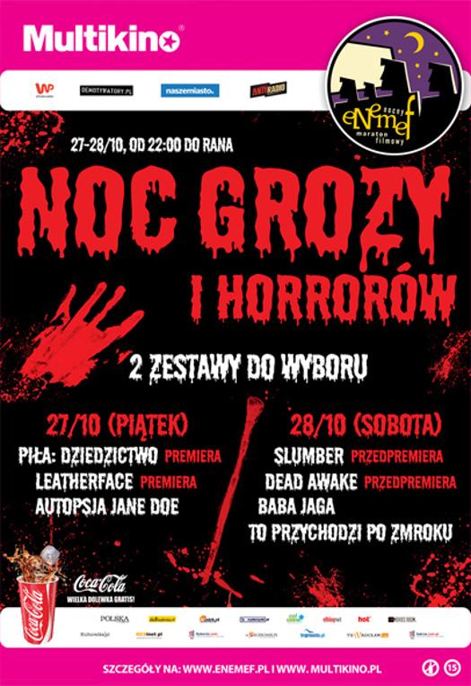 ENEMEF: Podwójna Noc Grozy i Horrorów