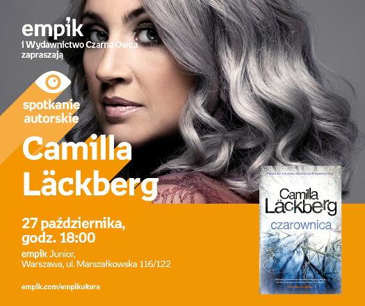 Camilla Läckberg - spotkanie autorskie