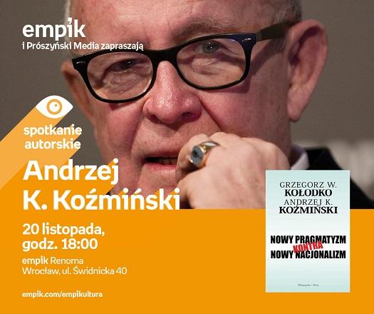 Spotkanie autorskie z Andrzejem K. Koźmińskim