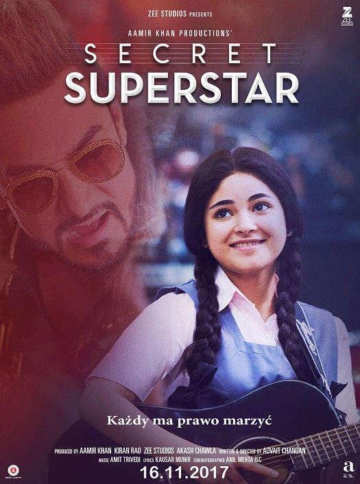 "Pokaz bollywoodzkiego filmu ""Secret Superstar"""