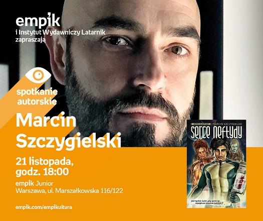 Spotkanie z pisarzem Marcinem Szczygielskim