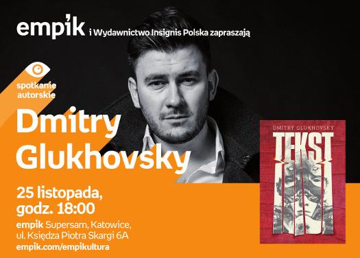 Dmitry Glukhovsky w katowickim salonie empik Supersam