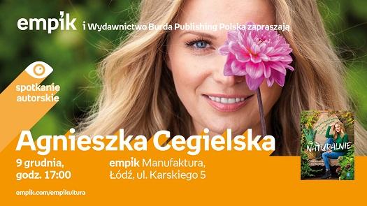 Spotkanie autorskie z Agnieszką Cegielską