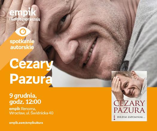Cezary Pazura - spotkanie autorskie
