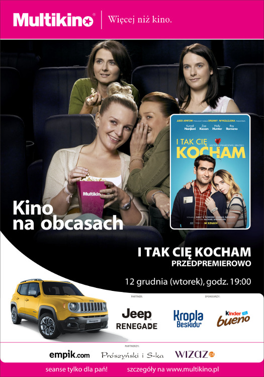 Kino na Obcasach: I tak Cię kocham