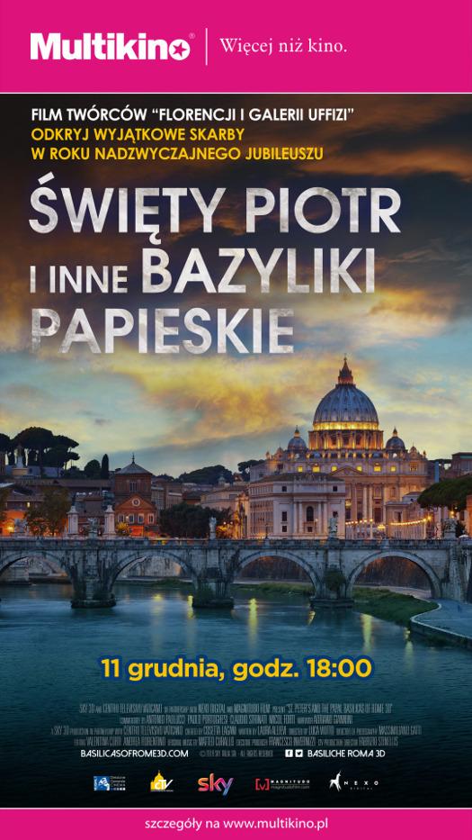 Święty Piotr i inne papieskie bazyliki Rzymu