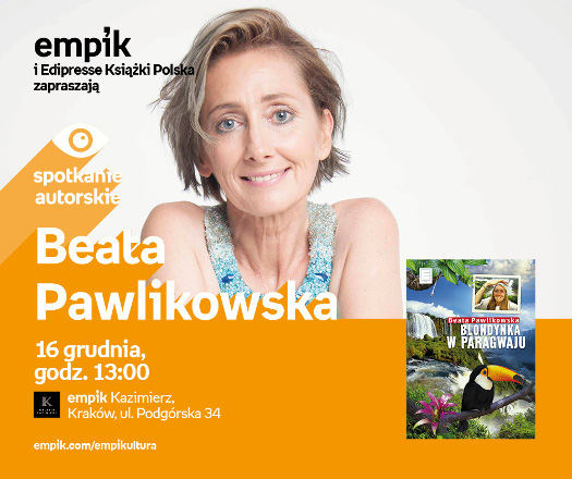 Spotkanie z Beatą Pawlikowską