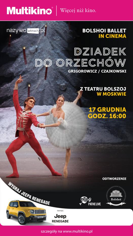 """Pokaz """"Dziadka do orzechów"""" w wykonaniu Baletu Bolszoj"""