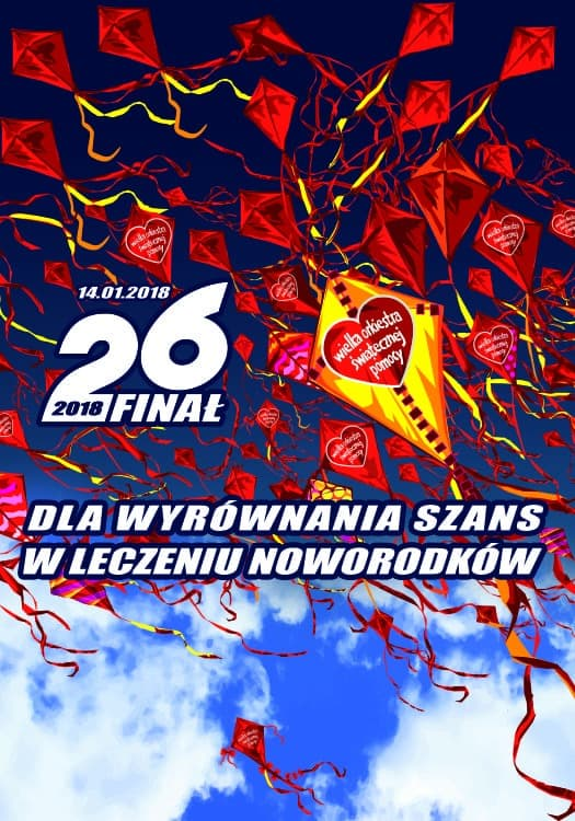 26. Finał WOŚP 2018 Łazy - program