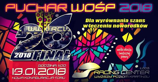 Puchar WOŚP 2018 - zawody kartingowe