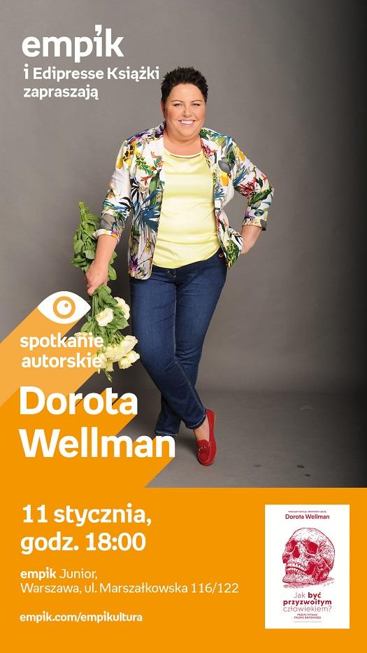 Dorota Wellman - spotkanie autorskie