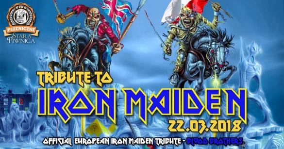 Blood Brothers  - Official Iron Maiden Tribute Band zagra w Starej Piwnicy!