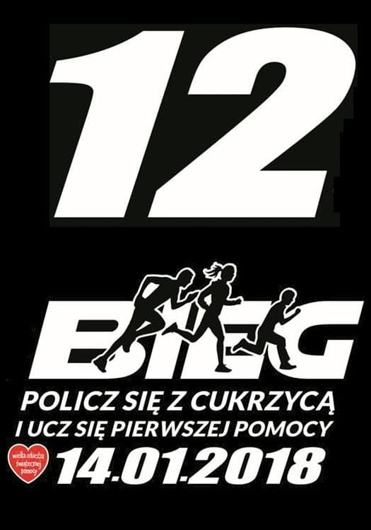 """Bieg WOŚP 2018 Nowy Staw - Bieg """"Policz się z cukrzycą"""" w Nowym Stawie"""