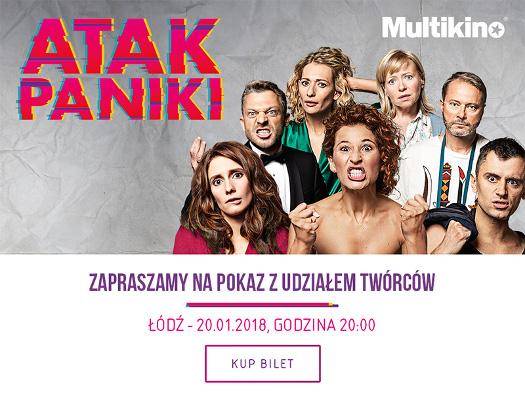 """Pokaz specjalny filmu """"Atak Paniki"""" w towarzystwie gwiazd"""
